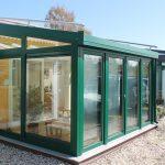 Wintergartenausstellung bei Böttcher Fensterbau Bernau bei Berlin