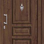 Haustür Holz und Vintagelook